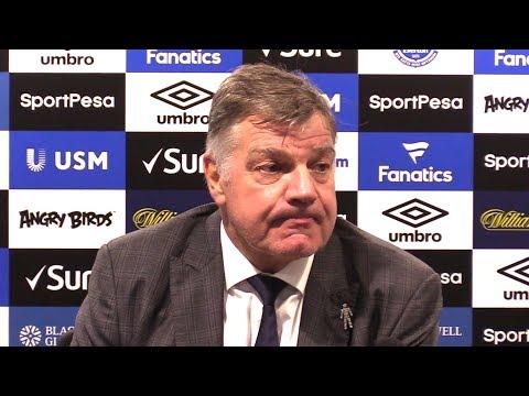 Everton 0-2 Manchester United - Sam Allardyce Post Match Press Conference - Premier League - #EVEMUN