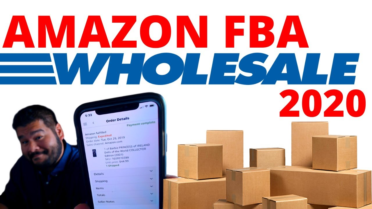 amazon fba wholesale 2020 let 39 s get it started youtube. Black Bedroom Furniture Sets. Home Design Ideas