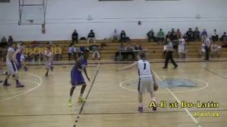 Acton Boxborough Varsity Boys Basketball @ Boston Latin 2/11/14