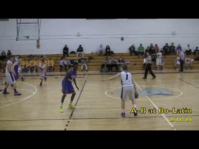 Acton Boxborough Varsity Boys Basketball @ Boston Latin 2/11/14