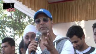 AKSHAY KUMAR FLAG OFF RIDE FOR SAFETY HELMET AWARENESS & ROAD SAFETY RALLY