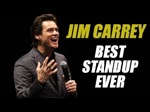 JIM CARREY - Best Standup Comedian Ever