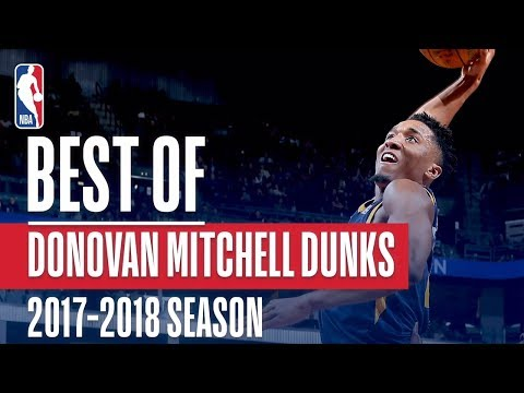 Donovan Mitchell's Best Dunks From the 2017-18 Regular Season