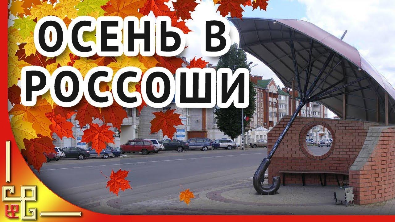 Россошь Воронежская область 🍁 В городе осень наступила ...