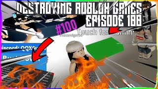 Roblox Exploiting #100 - DESTROYING ROBLOX GAMES