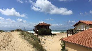 st. Girons plage (FR.) - Leon - village ocelandes gopro