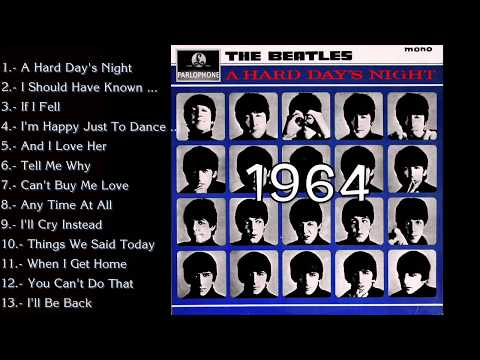 The Beatles - A Hard Day's Night Full Album Cover