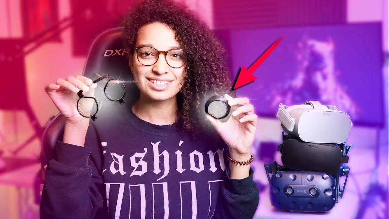 Wearing Glasses In VR Or Get Custom VR Glasses? - Prescription Lens  Adapters Review
