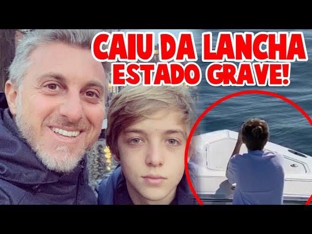 URG€NT€- acaba de chegar notícia filho de Luciano Huck sofre ACID€NT€ de lancha e estado preocupa
