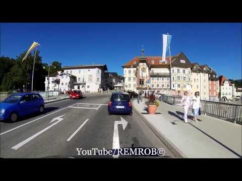 Driving From Sindelsdorf To Bad Tölz Germany