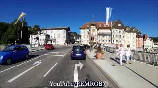 driving from sindelsdorf to bad tlz germany
