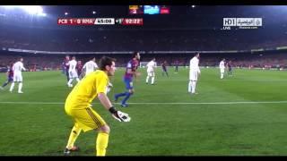 أهداف برشلونة 2   2 ريال مدريد تعليق رؤوف خليف 25 01 2012 HD   YouTube