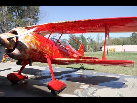 Pitts 12 First Flight