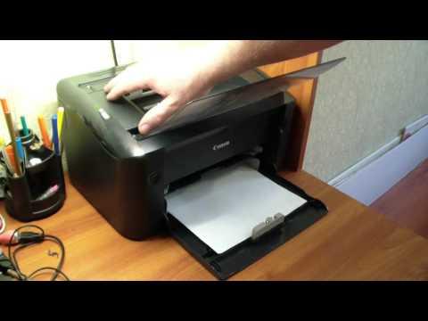 Проверка печати принтера без компьютера Canon Lbp3010 и HP 1005,1006