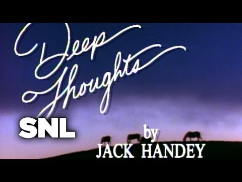 Deep Thoughts: Insanity Advice - Saturday Night Live