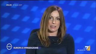 Immigrati, accoglienza e integrazione: il commento di Lucia Borgonzoni