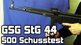 GSG StG 44 Schreckschuss 500 Schusstest // www.zib-militaria.de