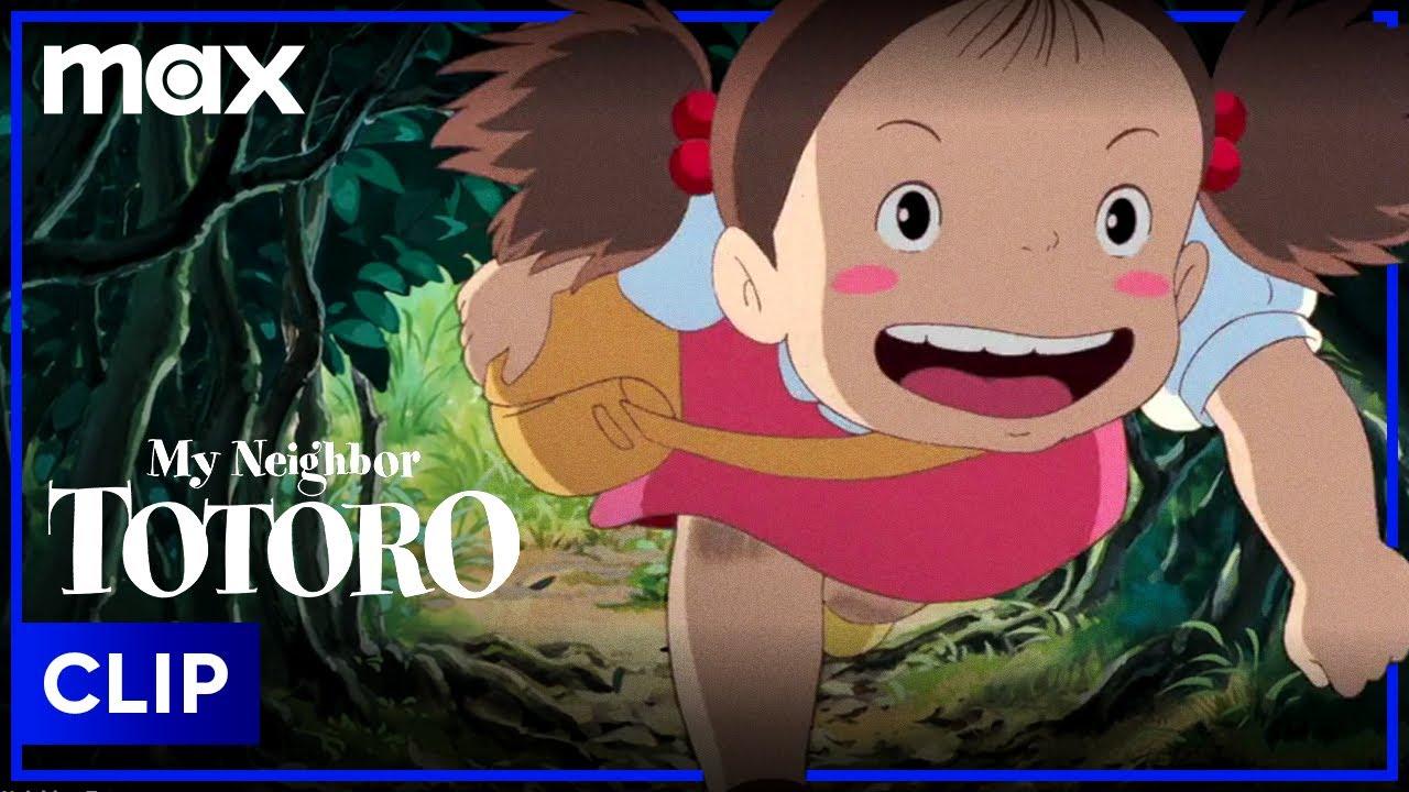 My Neighbor Totoro | Mei Meets Totoro (Clip) | HBO Max Family
