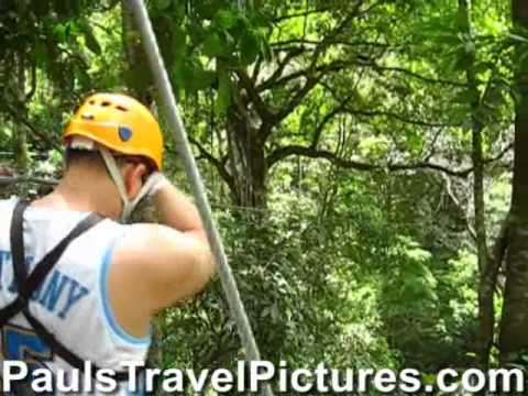 Waterfalls Canopy Tour Jaco Beach Costa Rica Video