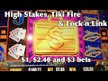 High Stakes, Tiki Fire and Lock n Link// Aussie Slots