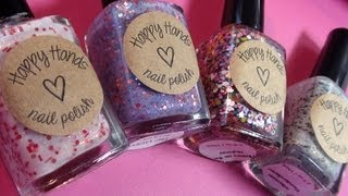 Indie Brand Happy Hands Nail Polish - Swatches & Review