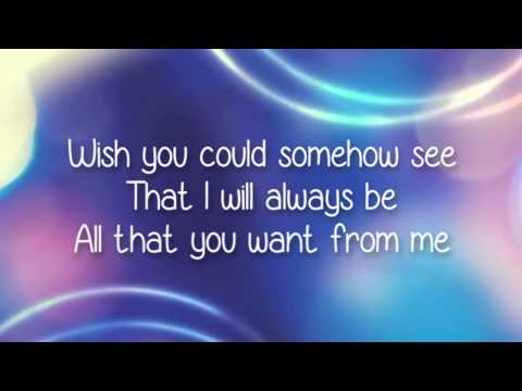 Misunderstood -  AJ Michalka Lyrics Video