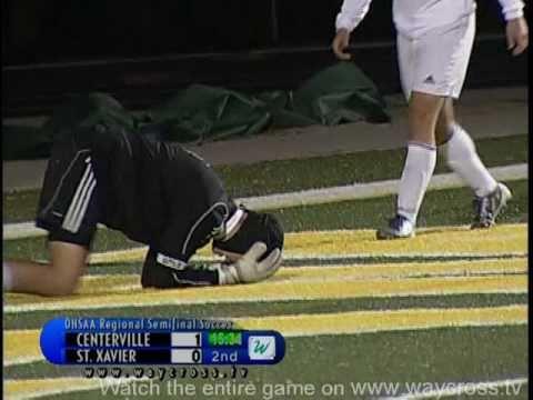 Centerville vs St Xavier Reg Final Soccer