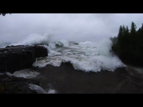 Lake Superior Windstorm October 24th 2017