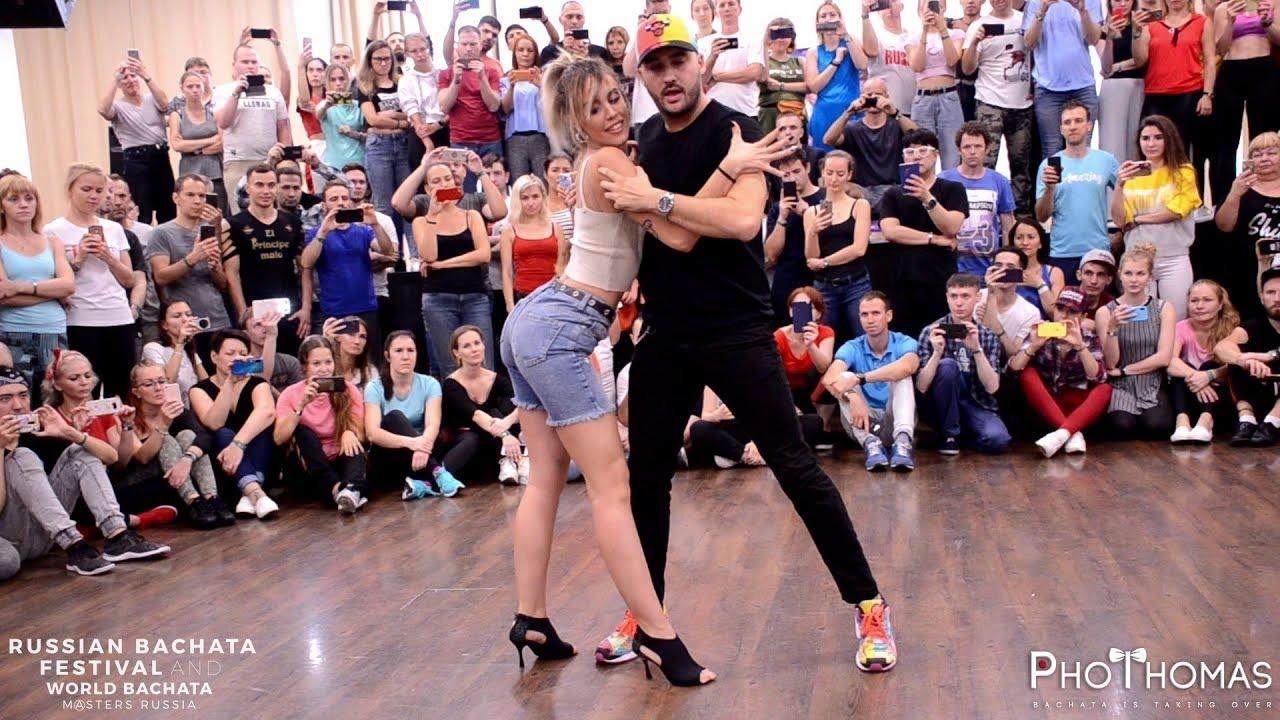 Dario y Sara Te Ves Buena @ Russian Bachata Festival ...
