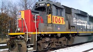 Abandoned Running Locomotive- EMD GP 60