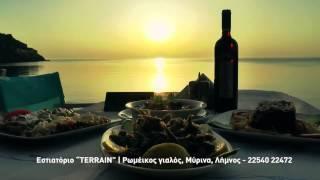 Taverna Pizza Restaurant Terrain  Myrina  Limnos