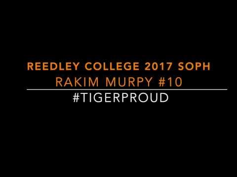 Rakim Murphy 2016 - 2017 Highlight Film Reedley College Still Available