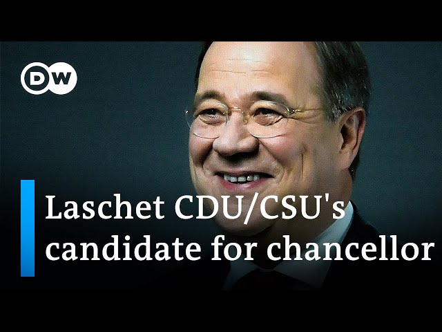 Germany: Armin Laschet is set to be CDU/CSU's candidate for chancellor | DW News