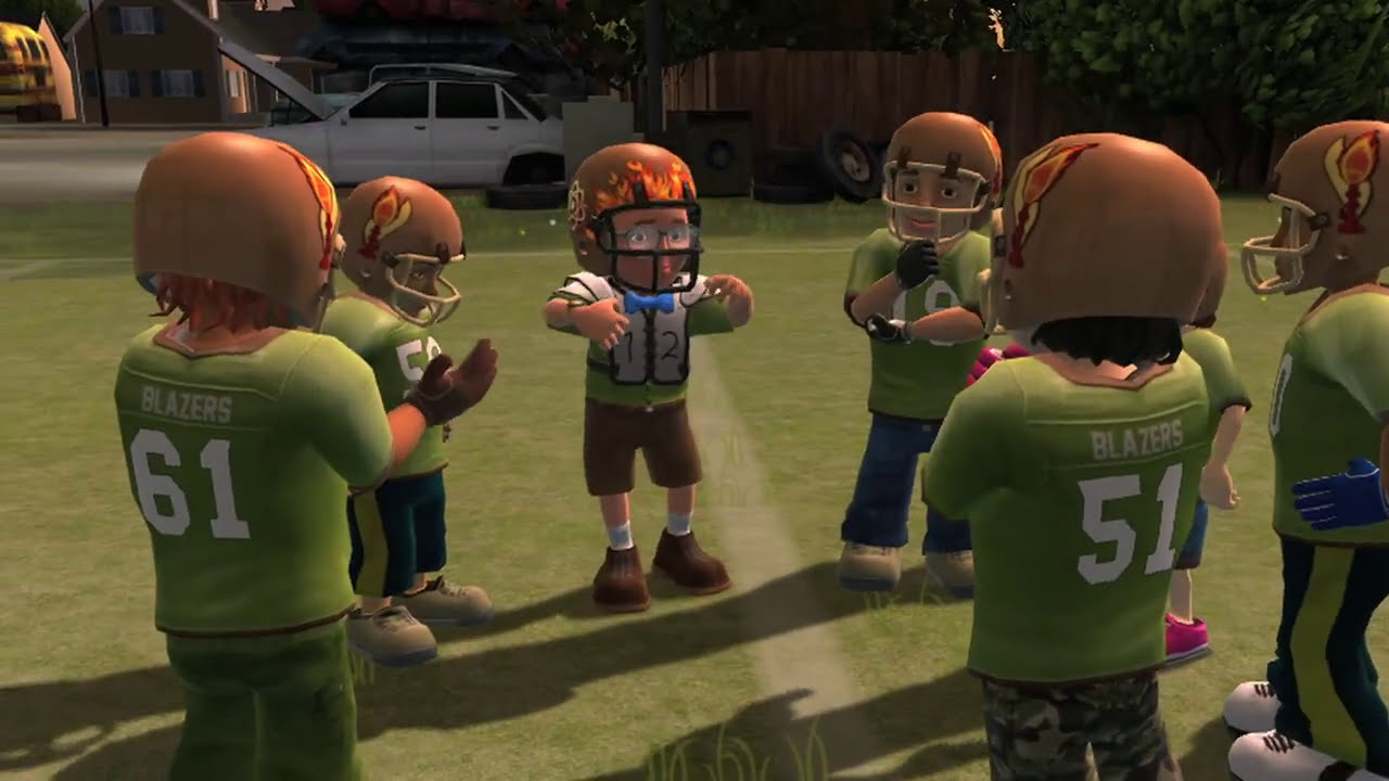 backyard sports rookie rush characters youtube