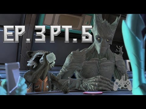 Guardians of the Galaxy Episode 3 Part 5 - Blood on the Tracks
