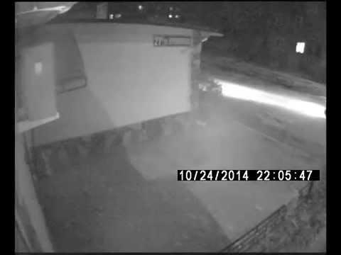 Уличная аналоговая видеокамера: J2000 P2420HBRX (ночь)