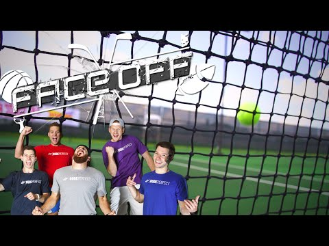Make Dude Perfect Roller Skating Tennis | FACEOFF Pictures