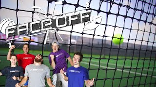 Dude Perfect Roller Skating Tennis  FACEOFF