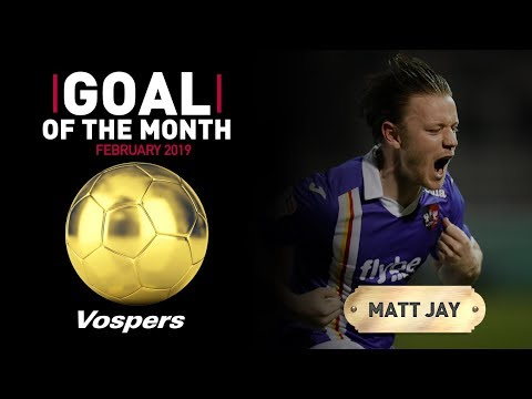 ⚽️ February Vospers' goal of the month result | Exeter City Football Club