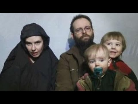 American and her family released by the Taliban
