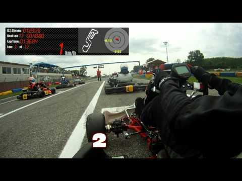 Castelletto Di Branduzzo - 7 Laghi Kart - 125 Prodriver Pro Onboard Simone Colombo Coppa CSAI