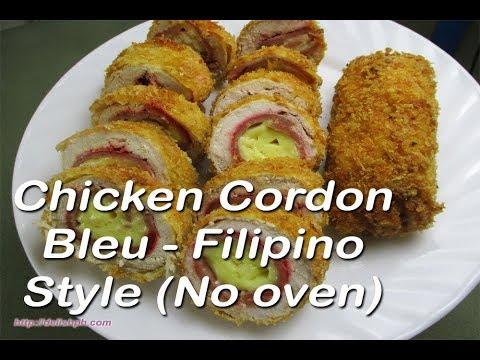 En Cordon Bleu Filipino Style No Oven Delish Ph