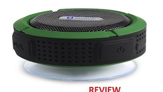 TurnRaise Wireless Bluetooth 3.0 Outdoor and Shower Speaker Review