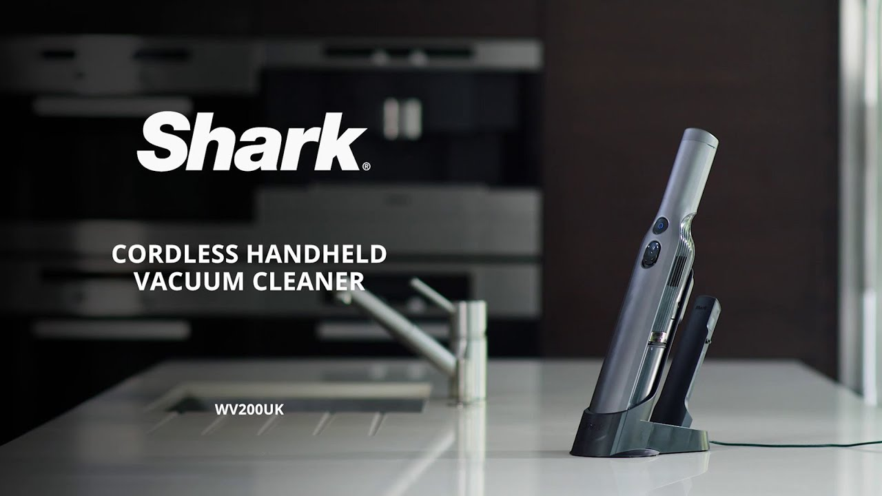 Shark Cordless Handheld Vacuum Cleaner Wv200uk : introducing the shark cordless handheld vacuum cleaner single battery wv200uk youtube ~ Russianpoet.info Haus und Dekorationen