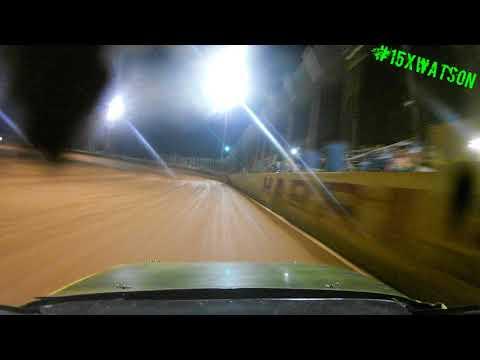 Harris Speedway FWD 4 Heat #1 Front Cam 9-23-17 #15XWATSON