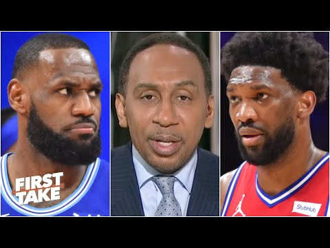 Stephen A. reacts to the 76ers' win over the Lakers: They proved they can win it all!   First Take