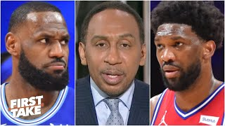 Stephen A. reacts to the 76ers' win over the Lakers: They proved they can win it all! | First Take
