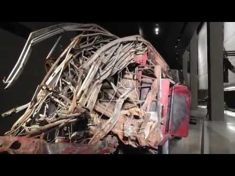 9 - 11 Memorial Museum tour - WTC World Trade Center Memorial Manhattan, New York