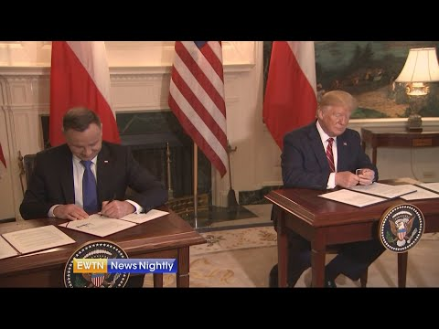 President Trump sending 1,000 more U.S. troops to Poland - ENN - 2019-06-12
