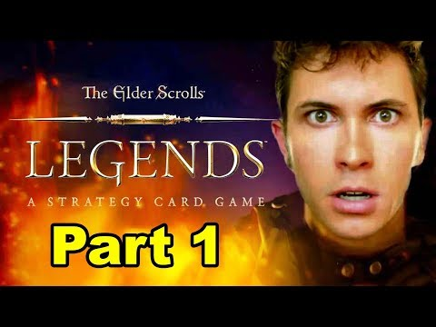 The Elder Scrolls: Legends - Part 1: JERKY FAIL VIDEO